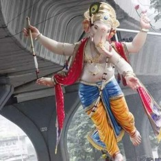 Chandanwadicha Raja is among Mumbai's Best Ganpati Idol