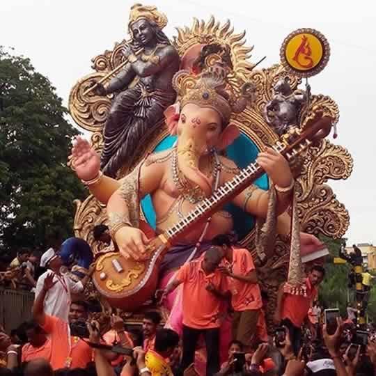 Chinchpokli Cha Chintamani is Among Mumbai's Oldest Ganesh Mandal