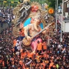 Chinchpoklicha Chintamani is a Famous Mumbai Ganesh