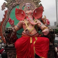 Currey Roadcha Kaivari Ganeshi is among Mumbai's Famous Ganpati