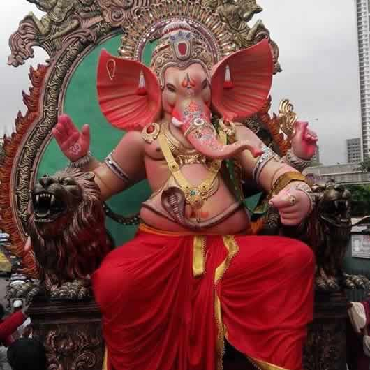 Currey Roadcha Kaivari Ganpati is among Mumbai's Famous Ganesh