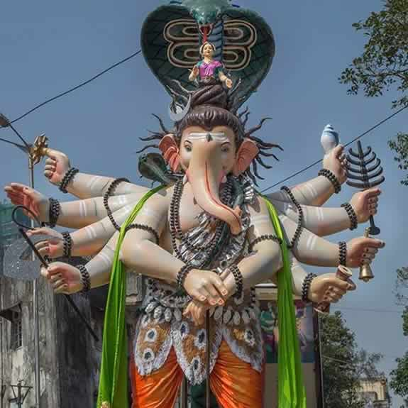 Grant Road Market Ganesh Is Among Best in Mumbai in 2015