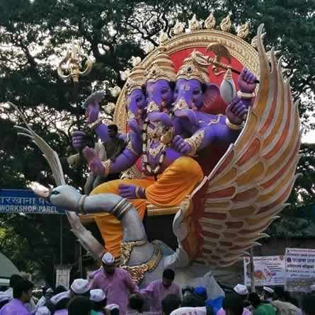 Khetwadi Khambata Lane Ganpati Is Among Best in Mumbai In 2015