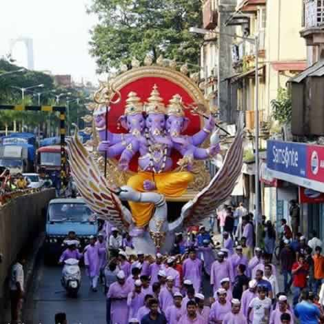 Photos of 2015 ganpati idols ganesh chaturthi in mumbai wonderful 2015 khetwadi khambatta galli ganesh moorti is among mumbais best thecheapjerseys Image collections