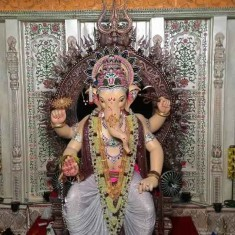 2015 Khetwadicha Ganraj Ganpati and Mandap Are Among The Best