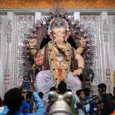 Khetwadicha Ganraj (Lane 12) Ganesh Among Best In Mumbai