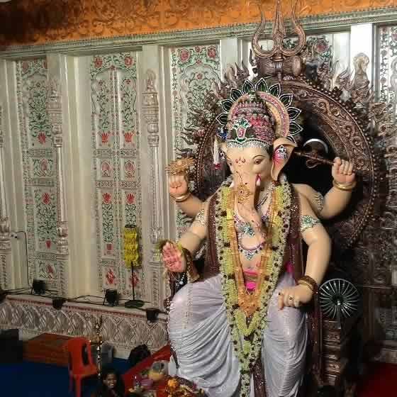 Khetwadi Lane 12 Among Best Ganesh Mandals In Mumbai In 2015