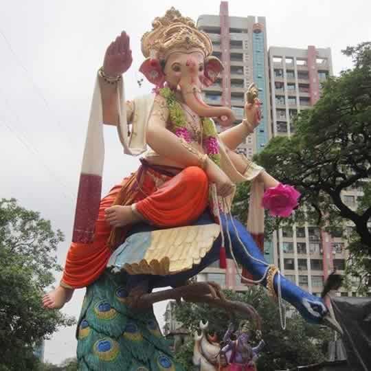 Khetwadi Lane 7 Ganesh is among the famous Khetwadi Idols