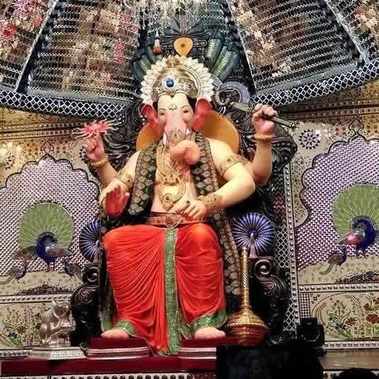 Photo of Lalbagcha Raja, Mumbai's Most Famous Ganpati
