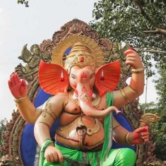 2015 Malvanicha Raja Ganesh Idol is Among Mumbai's Best