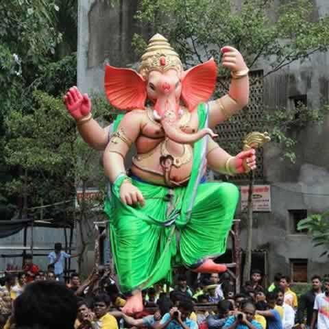 Malwani Cha Raja Ganpati Is A Famous Mumbai Ganesh Idol
