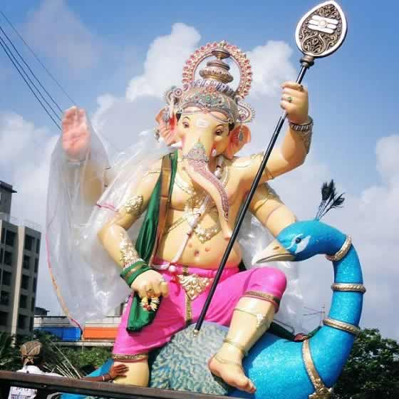 Picture Of The Beautiful 2015 Mira-Bhayander Cha Raja Ganesh