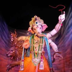Mumbai Cha Raja Is Among Mumbai's Oldest And Most Famous Ganpati