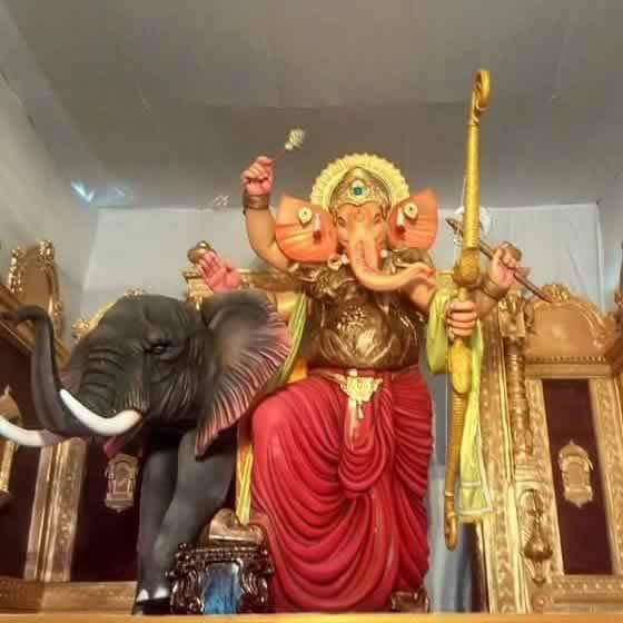 Raja Tejukaya Is A Famous Ganpati From Mumbai's Lalbagh