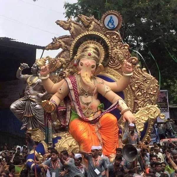 Chinchpokli Cha Chintamani at 2016 Ganesh Chaturthi