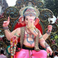 Dongricha Raja Ganesh Idol Pictures in 2016