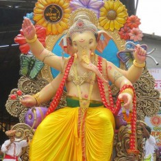 Fort Cha Raja Ganpati Idol at Ganesh Chaturthi 2016
