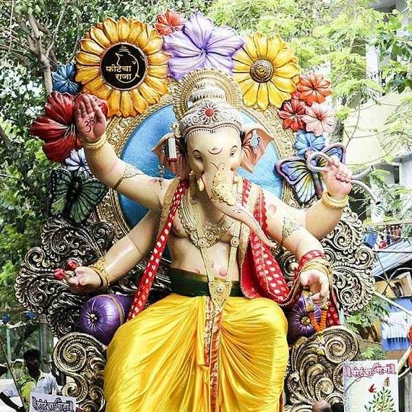 Fortcha Raja is a Famous Ganesh Murti from South Mumbai
