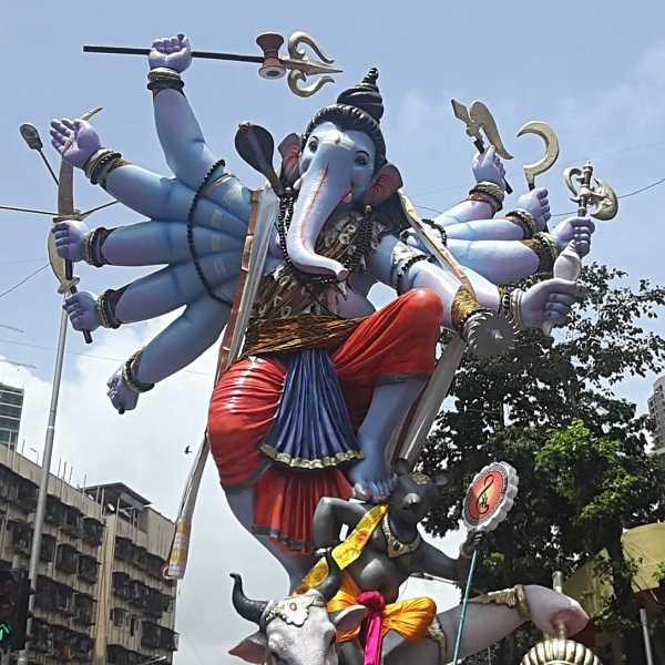 Khetwadi Gali 11 has the Best Ganesh Murti and Pandal