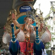 Ganpati Photo of 2016 Khetwadi Lane 2 and 3 Ganesh Murti