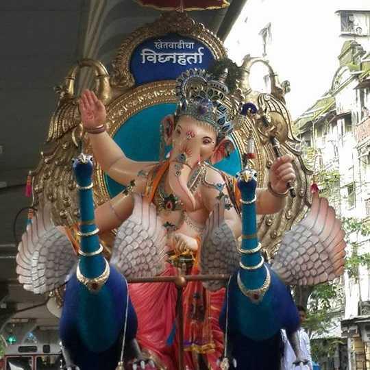 Ganesh Photo of 2016 Khetwadi Cha Vignaharata (Lane 2,3)