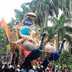 Ganesh Photo of 2016 Khetwadi Cha Vignharata (Gali 2, 3)