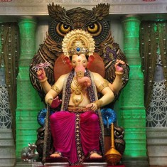 2016 Lalbaug Cha Raja Ganesh Photo