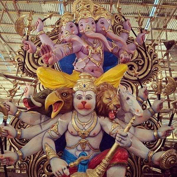Mira Bhayander Cha Raja is a Famous Ganesh from Mumbai's Suburb