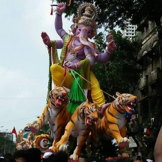2016 Mumbadevi Cha Ganraj Ganpati Photo