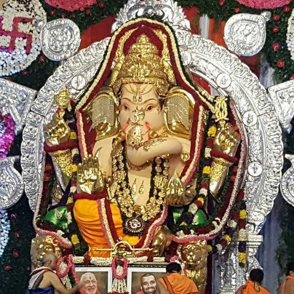GSB Seva Mandal has the Richest Ganesh in the World