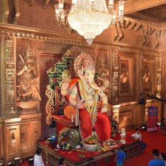 Kethwadi Lane 12 is among Best Ganesh Pandal in Mumbai