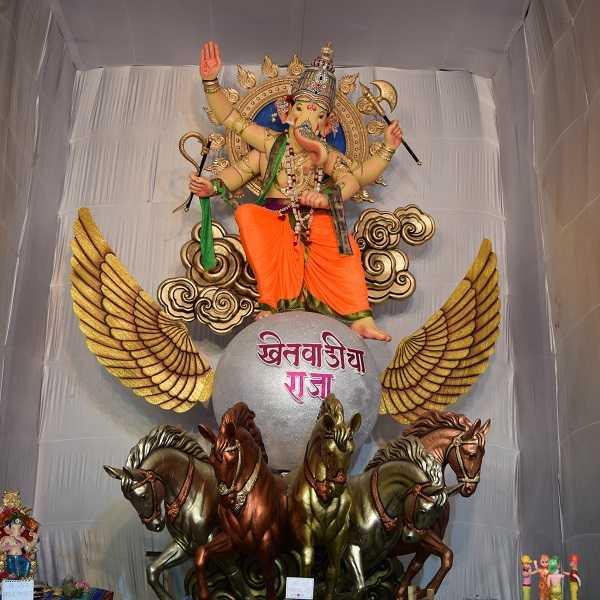 Khetwadi Cha Raja (Khambata Lane) 2016 Ganesh Photo