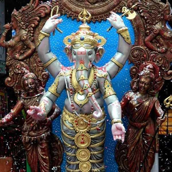 Tulsiwadi Cha Maharaja 2016 Ganesh Idol By Vijay Khatu