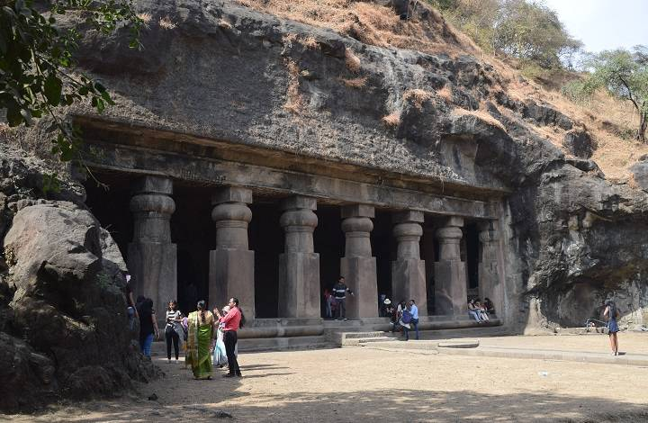 Photo of Elephanta Cave Number 3 on Elephanta Island