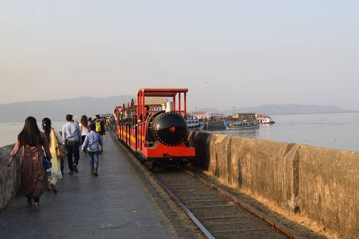 Picture of Elephanta Caves Boat Jetty and Toy Train