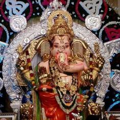 Ganesh Picture of 2017 GSB Seva Mandal Ganpati Murti