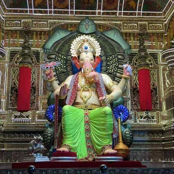 Ganesh Photo of the 2017 Lalbaug Cha Raja