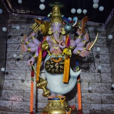 "2017 ""Mumbaicha Maharaja"" Khetwadi Lane 11 Ganesh Photo"