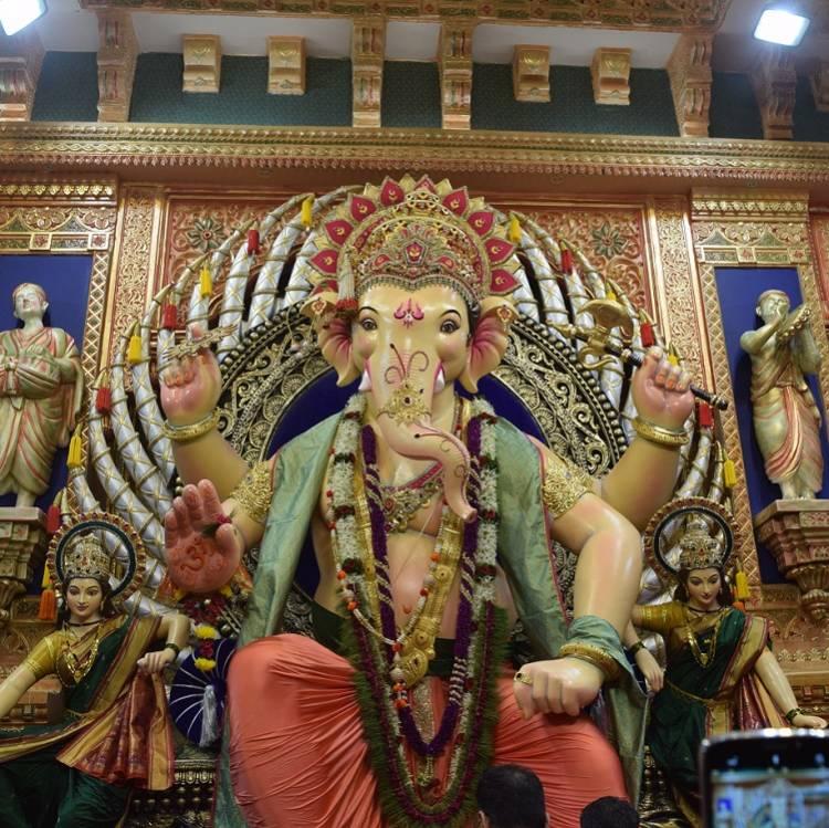 Khetwadi Cha Ganraj 2018, Khetwadi Lane 12 Ganesh