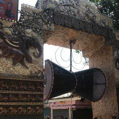 Photo of the entrance to Lalbaugcha Raja Ganesh. 2018