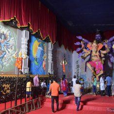 Mumbaicha Maharaja (Khetwadi Lane 11) Ganesh Idol 2018