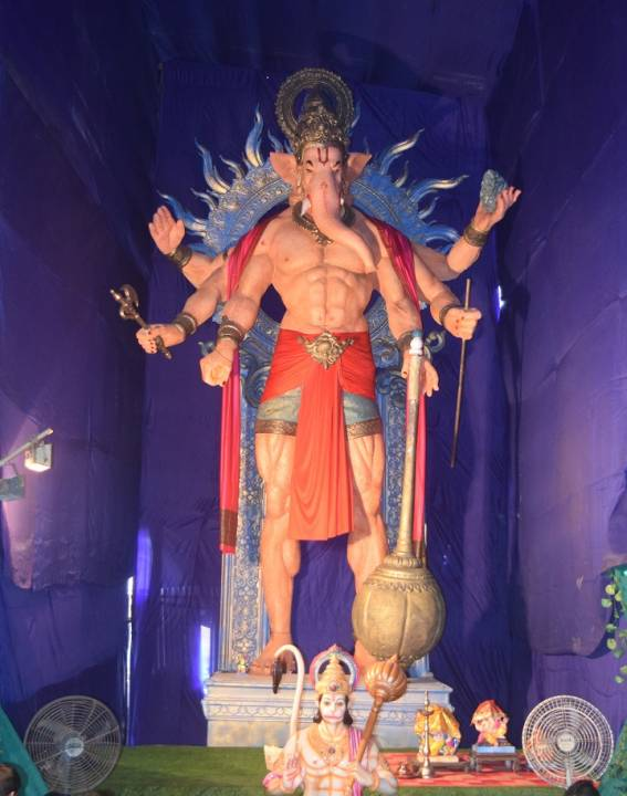 2019 Khetwadi Lane 8 is Mumbai's Tallest Ganesh Murti